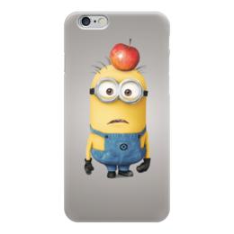 "Чехол для iPhone 6 глянцевый ""Миньон "" - мульт, миньоны, гадкий я, minion"