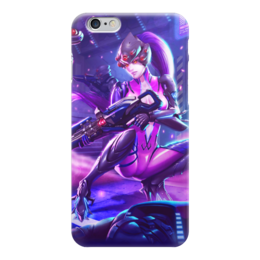 "Чехол для iPhone 6 ""Overwatch"" - аниме, overwatch, widowmaker, blizard, widow"