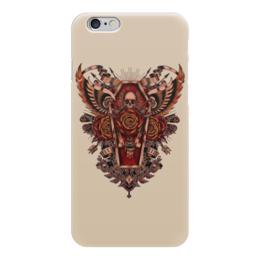 "Чехол для iPhone 6 ""Coffin Art"" - skull, череп, гроб, coffin, арт дизайн"