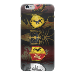 "Чехол для iPhone 6 ""Игра Престолов (Game of Thrones)"" - starks, игра престолов, старки, game of thrones"