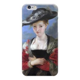 """Чехол для iPhone 6 """"Свояченица Сусанна («Соломенная шляпка»)"""" - картина, рубенс"""