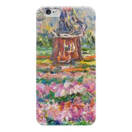 "Чехол для iPhone 6 глянцевый ""Голландия"" - лето, европа, тюльпаны, мельница, цветут, tulips, голландия, holland"