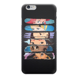 "Чехол для iPhone 6 ""Принцессы Диснея"" - русалочка, мулан, покахонтас, жасмин, золушка"