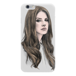 "Чехол для iPhone 6 ""Lana Del Rey"" - музыка, music, фанарт, lana del rey, лана дель рей"