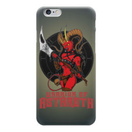 "Чехол для iPhone 6 ""Warrior Of Astaroth"" - hell, ад, воин, warrior, сатана"