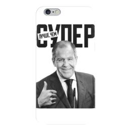 """Чехол для iPhone 6 глянцевый """"Лучше, чем супер"""" - супер, russia, лавров, weloverov, loverov"""