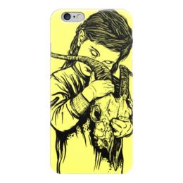 """Чехол для iPhone 6 """"Демон"""" - череп, зомби, ужас, horror, демон"""