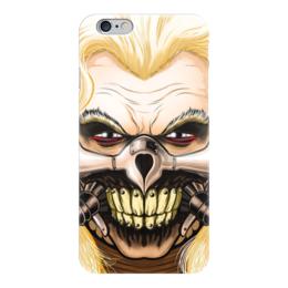 """Чехол для iPhone 6 глянцевый """"Несмертный Джо"""" - безумный макс, mad max, джо, immortan joe"""