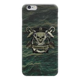 """Чехол для iPhone 6 """"ФЛОТ!!!"""" - море, якорь, океан, флот, бескозырка"""