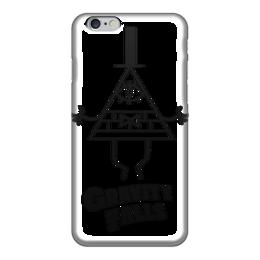"Чехол для iPhone 6 ""Билл Шифр"" - gravity falls, гравити фолз, bill cipher, билл шифр"