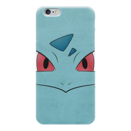 "Чехол для iPhone 6 ""Ивизавр"" - нинтендо, бульбазавр, pokemon go, покемон го, ivysaur"