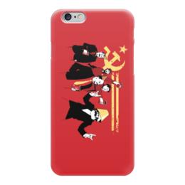 """Чехол для iPhone 6 """"Коммунисты зажигают"""" - ссср, ленин, история, коммунисты"""