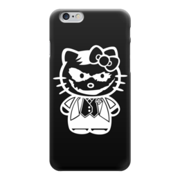 "Чехол для iPhone 6 ""Hello Joker (Kitty)"" - китти, пародия, джокер, привет киска, helllo kitty"