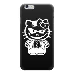 "Чехол для iPhone 6 ""Hello Joker (Kitty)"" - китти, пародия, джокер, привет киска, helllo kitty"