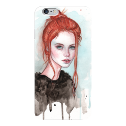"Чехол для iPhone 6 ""Рыжая"" - девушка, мода, рыжая, фэшн, модель"