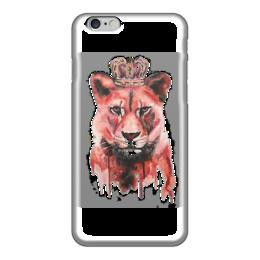 """Чехол для iPhone 6 """"Красный тигр"""" - животные, орел, тигр"""