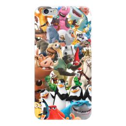 """Чехол для iPhone 6 """"Cartoons"""" - мультяшки, мультфильм, для детей, персонажи, pixar"""