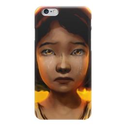 """Чехол для iPhone 6 """"Клементина (Ходячие Мертвецы)"""" - ходячие мертвецы, walking dead, клементина"""