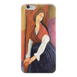 "Чехол для iPhone 6 ""Жанна Эбютерн (Амедео Модильяни)"" - картина, модильяни"
