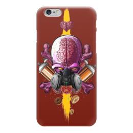 "Чехол для iPhone 6 ""Граффити Арт"" - skull, череп, граффити, краска, graffiti"