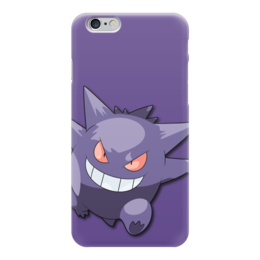 "Чехол для iPhone 6 ""Генгар"" - нинтендо, nintendo, pokemon go, покемон го, gengar"