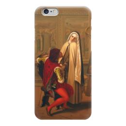 "Чехол для iPhone 6 ""Любовь или долг (Love or Duty)"" - картина, кастаньола"