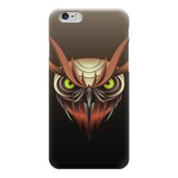 """Чехол для iPhone 6 """"Сова """" - птица, сова, owl"""
