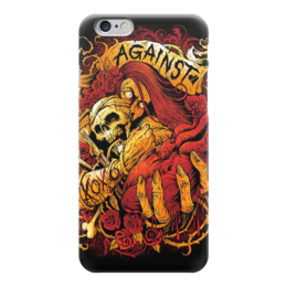 "Чехол для iPhone 6 ""Horror Art"" - skull, череп, арт, art, страх, ужас, death, смерть, fear, horror"