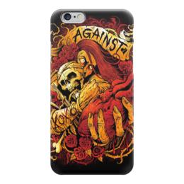 """Чехол для iPhone 6 глянцевый """"Horror Art"""" - skull, череп, арт, art, страх, ужас, death, смерть, fear, horror"""