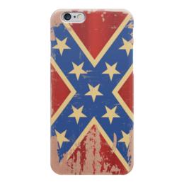 "Чехол для iPhone 6 ""Флаг конфедерации США"" - арт, америка, флаг, конфедерация, флаг конфедерации"