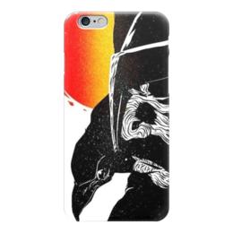 """Чехол для iPhone 6 глянцевый """"Ворон Севера"""" - викинги, ворон, исландия, север, скандинавия"""