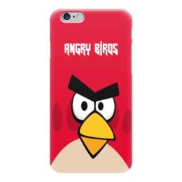 "Чехол для iPhone 6 глянцевый ""Angry Birds (Terence)"" - terence, злые птички, angry birds, мультфильм, компьютерная игра"