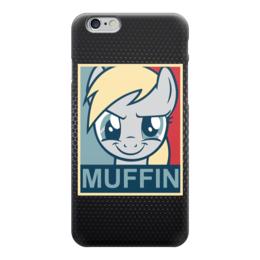 "Чехол для iPhone 6 глянцевый ""Muffin (Оладушки)"" - my little pony, моя маленькая пони, mlp, pony"