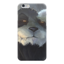 "Чехол для iPhone 6 ""Панда (Panda)"" - арт, wow, world of warcraft, варкрафт, mists of pandaria"