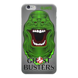 "Чехол для iPhone 6 глянцевый ""Ghost Busters"" - кино, фантастика, комедия, охотники на привидений, ghost busters"