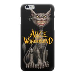 "Чехол для iPhone 6 ""Alice in Wonderland"" - кот, кошка, cat, фантастика, алиса, девочка, сказка, фэнтази, алиса в стране чудес, alice in wonderland"