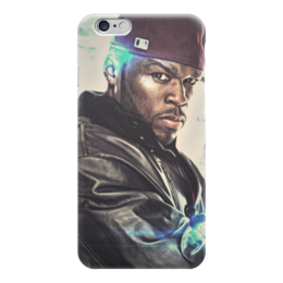 "Чехол для iPhone 6 ""50 cent (Фифти)"" - rap, 50 cent, фифти, кёртис джексон"