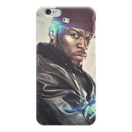 """Чехол для iPhone 6 """"50 cent (Фифти)"""" - rap, 50 cent, фифти, кёртис джексон"""