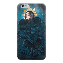 """Чехол для iPhone 6 """"Сирин"""" - арт, девушка, птица, сирин, славянская мифология"""