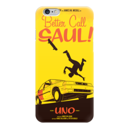 "Чехол для iPhone 6 глянцевый ""Better call Saul"" - better call saul, лучше звоните солу, сол гудман"