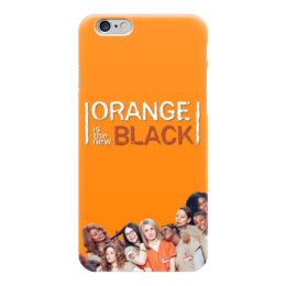 "Чехол для iPhone 6 ""OITNB"" - ointb, оранжевый хит сезона, orange is the new black"