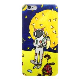 """Чехол для iPhone 6 """"Мечты о космосе"""" - модно, стильно, детское творчество, детский рисунок, руками детей"""