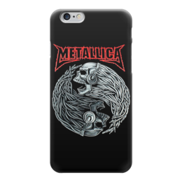"Чехол для iPhone 6 глянцевый ""Metallica"" - heavy metal, metallica, thrash metal, металлика, хэви метал"