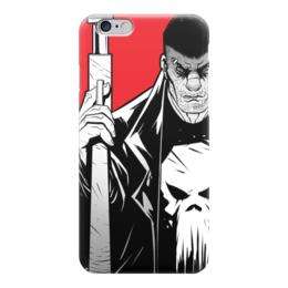 "Чехол для iPhone 6 ""Каратель (The Punisher)"" - комиксы, марвел, дардевил, daredevil, сорвиголова"