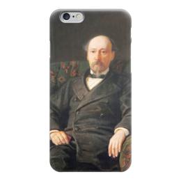 """Чехол для iPhone 6 """"Портрет Н. А. Некрасова"""" - картина, ге"""
