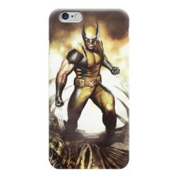 "Чехол для iPhone 6 ""Marvel"" - комиксы, росомаха, marvel, марвел"