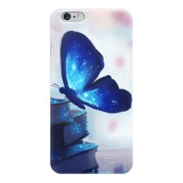 """Чехол для iPhone 6 """"Волшебство на крыльях"""" - бабочка, волшебство"""