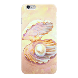 """Чехол для iPhone 6 """"Жемчужина моего сердца"""" - жемчуг, раковина, pearl, жемчужина"""