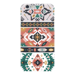 "Чехол для iPhone 6 ""Bright pattern in tribal style"" - tribal, ethnic, native, navajo, indigenous"