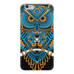 "Чехол для iPhone 6 ""Абстрактная сова"" - сова, абстракция, owl"